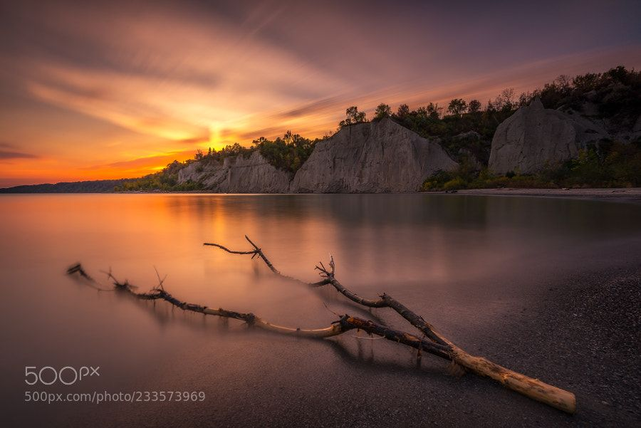 Peaceful Sunset by Marvin_Ramos
