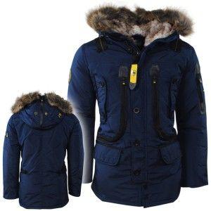 Trendy Winterjas.Geographical Norway Trendy Heren Winterjas Met Bontkraag