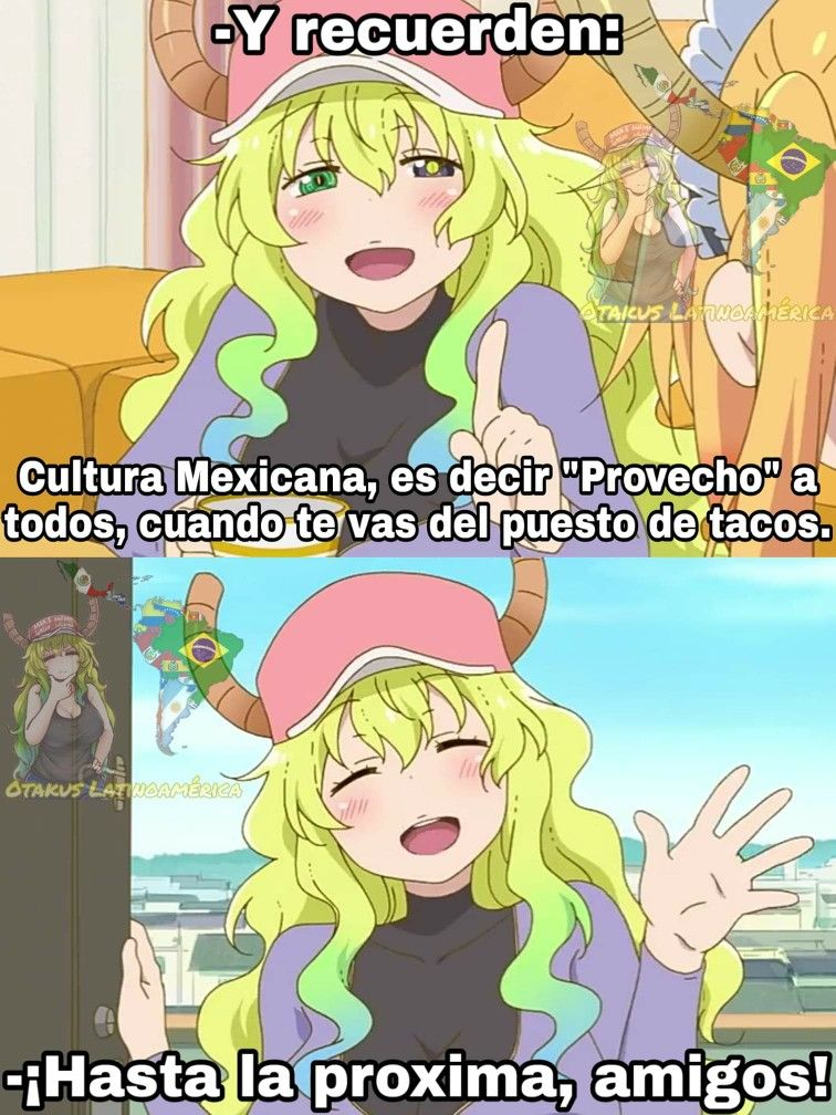Kobayashi-san Chi no Maid Dragon!    Memes de anime, Meme divertido, Meme de anime