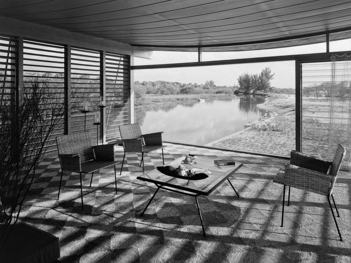 Corr a el a o 1948 y un joven paul rudolph recibi el for Casa minimalista tlalpan