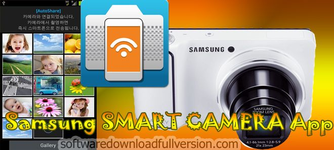 Samsung SMART CAMERA App APK allows its users to connect