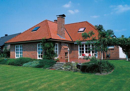 bungalow landhaus jura ein fertighaus von gussek haus hausideensammlung pinterest. Black Bedroom Furniture Sets. Home Design Ideas