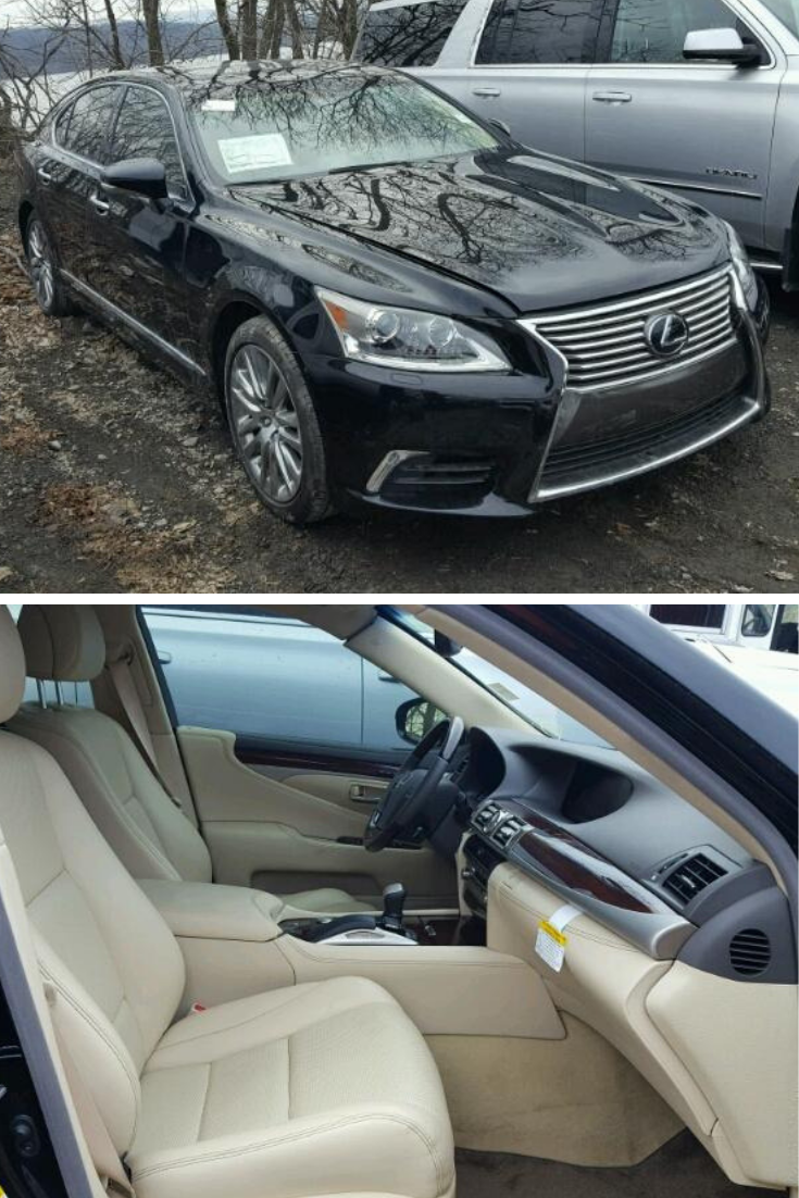 This 2017 Lexus Ls 460 Is Under 7k Miles And Available In Copart