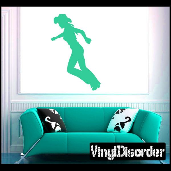 Cowgirl Wall Decal - Vinyl Decal - Car Decal - NS025  sc 1 st  Pinterest & Cowgirl Wall Decal - Vinyl Decal - Car Decal - NS025 | Car decal ...