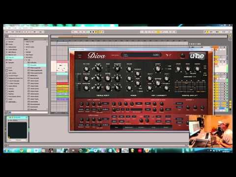 cool U-He Diva Tutorial. How to make a Deep House Bass in 30 seconds VST Crack FREE Download