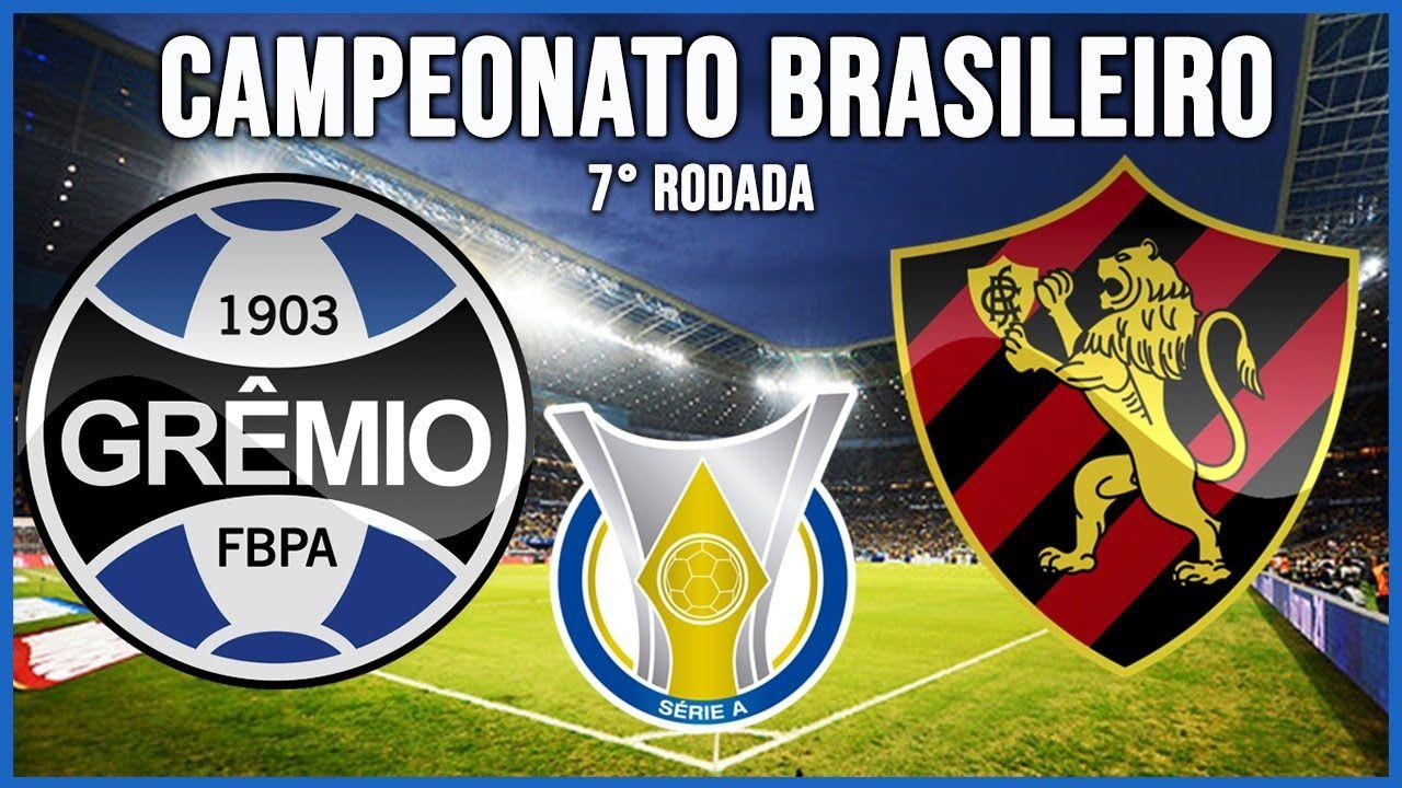 Onde assisti jogo do Grêmio x Sport Recife AO VIVO Online