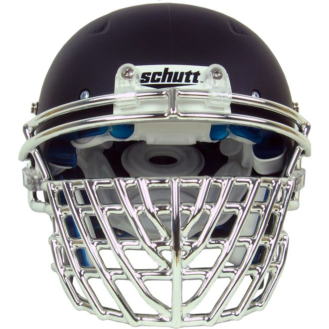 Football Helmet Grill : Schutt chrome big grill dna football facemask things