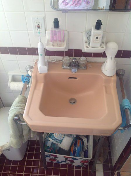 Ideas For Hiding Exposed Pipes Under Bathroom Sink Under