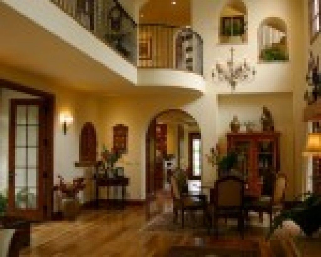 Livingroom Spanish Style Home Interior Living Room With Classic