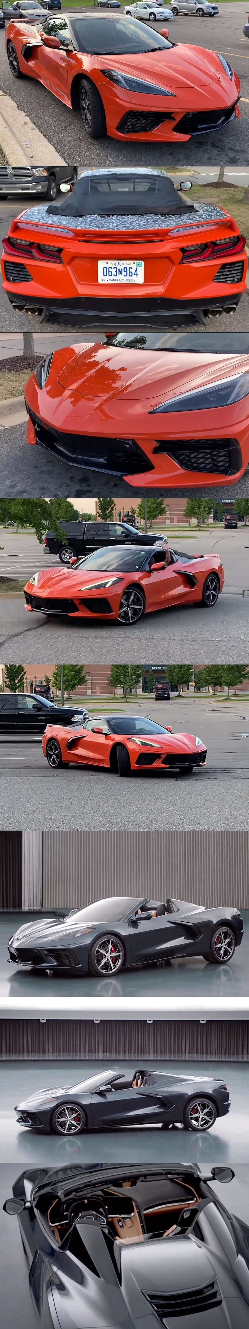 2020 Chevrolet Corvette C8 Convertible Caught On Video Wait Until You Find Out How Fast It Allegedly Accelerates Chevrolet Corvette Corvette Chevrolet