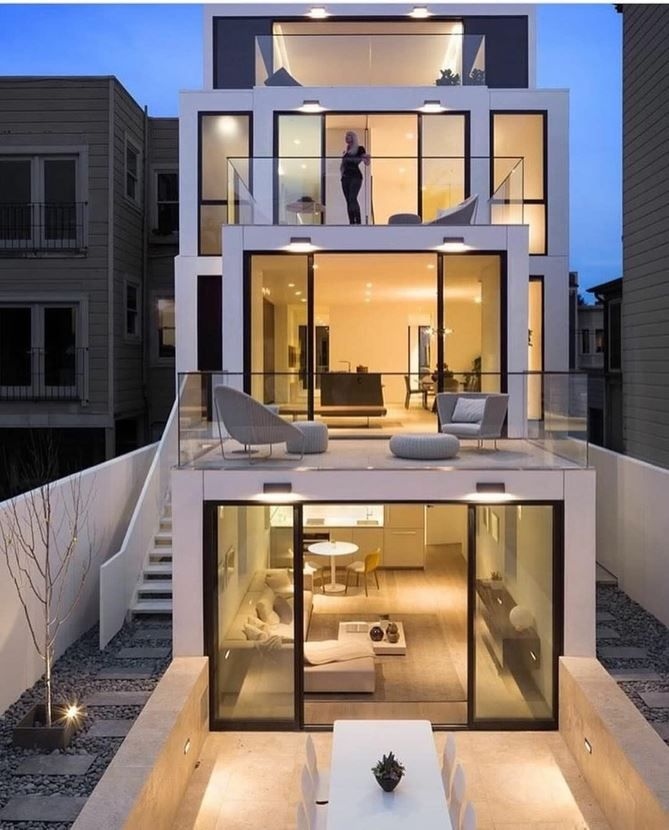 Pin On English Court Basement Contemporary house architecture styles