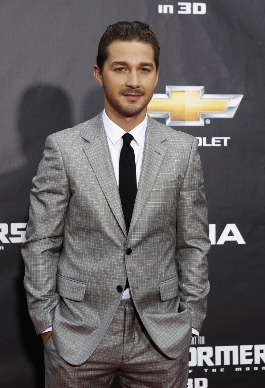 Shia labeouf isnt extremely well endowed