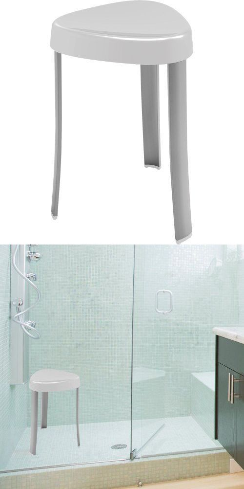 Shower and Bath Seats: Aluminum Spa Bath Shower Seat Stool Chair ...