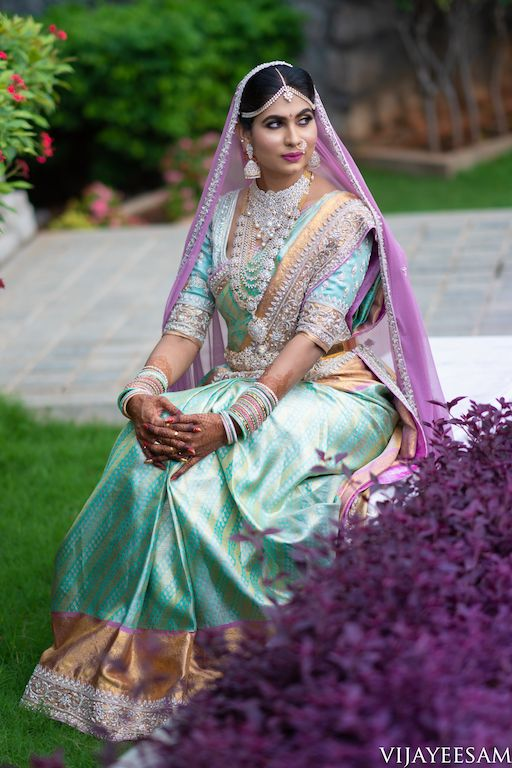 Photo of 12 Best Pastel Sarees We've Seen On Our Brides!