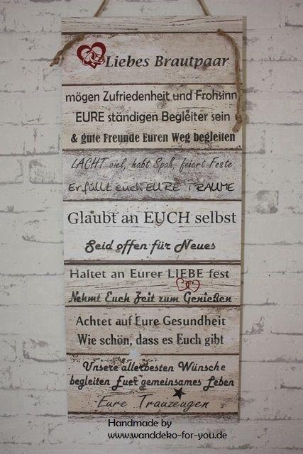 Wanddeko For You Grossetextschilder Spruche Hochzeit Gastebuch Hochzeit Brautpaar