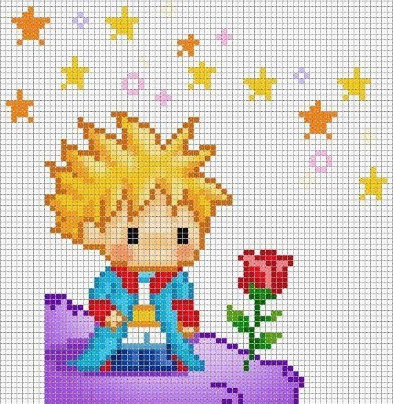 Le Petit Prince cross stitch