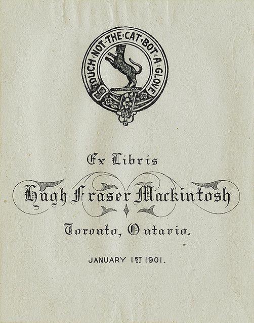 Bookplate - 1901