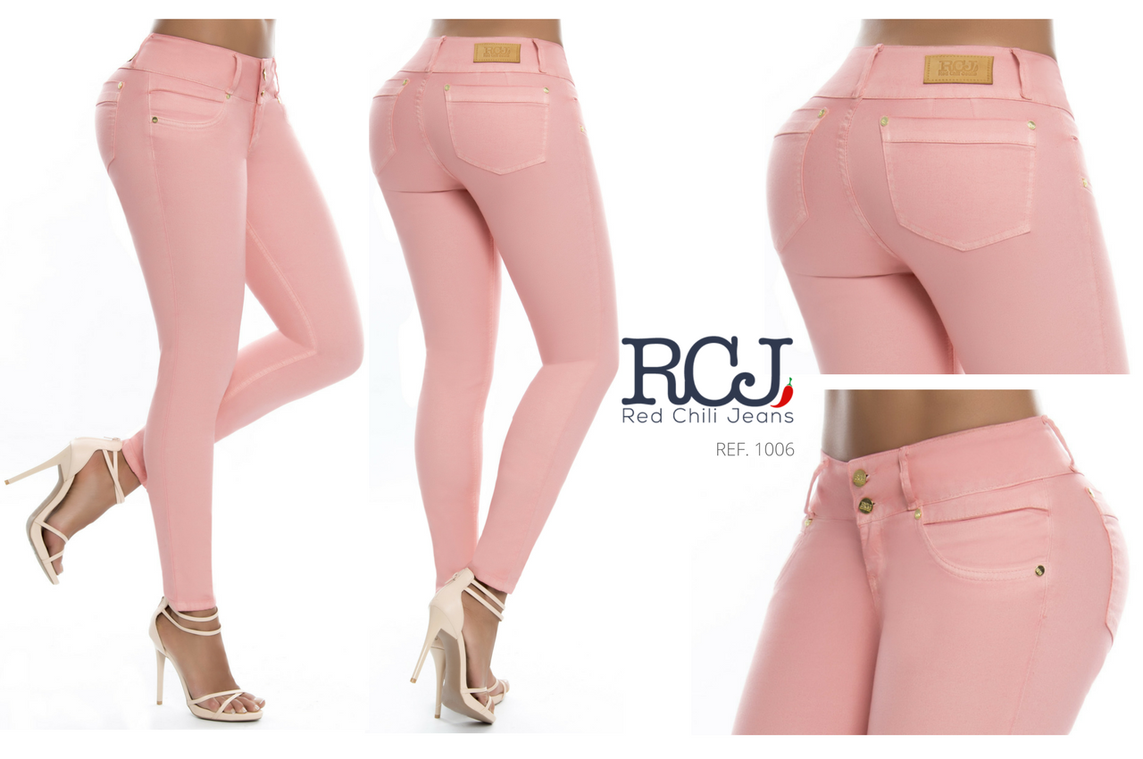Jeans levanta cola SLIM RCJ-1006 | Colección | Pinterest | Jeans ...