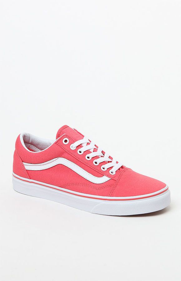 b6b86cd24171 Vans Women s Old Skool Coral Sneakers