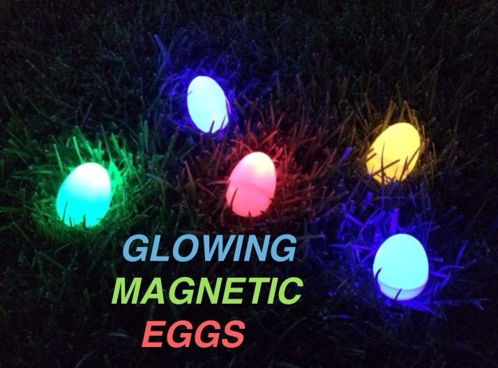 Glowing Magnetic Eggs Eggs Magnets Glow