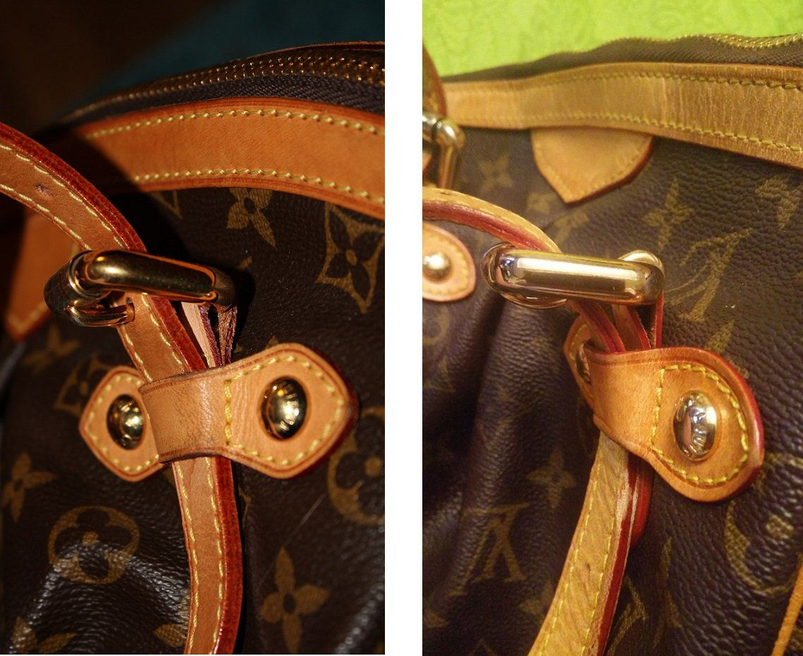 How To Tell If A Louis Vuitton Tivoli Gm Is Fake Or Authentic Fake Vs Real Louis Vuitton Tivoli Louis Vuitton Tivoli Gm