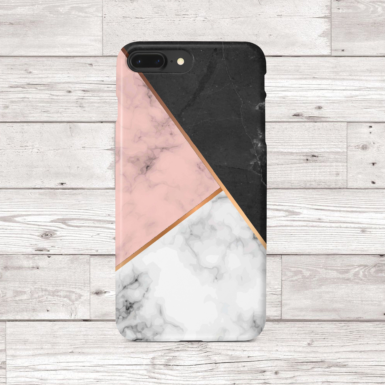 Marble Iphone Case Iphone 8 Plus Case Black White Pink Gold Iphone 7 Plus Case Iphone 7 Case Iphone 6 6s Iphone 8 Ca Marble Iphone Case Iphone Cases Iphone