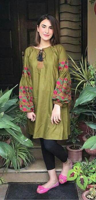 a8defad106 modern shirt, latest design | Classy And Decent | Pakistani dresses ...