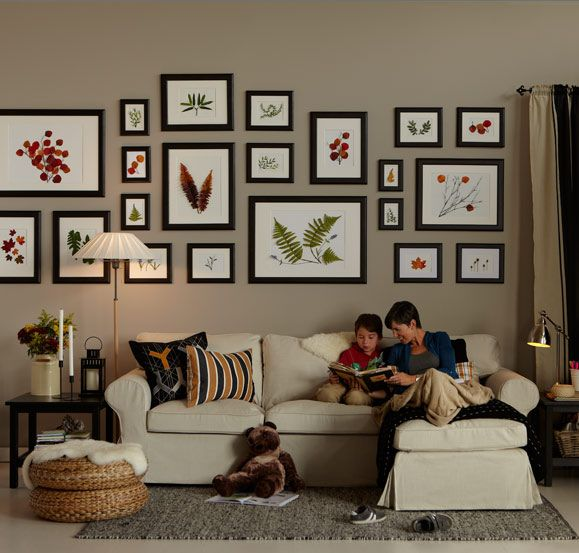 I love this picture wall For the Home Pinterest Photo wall