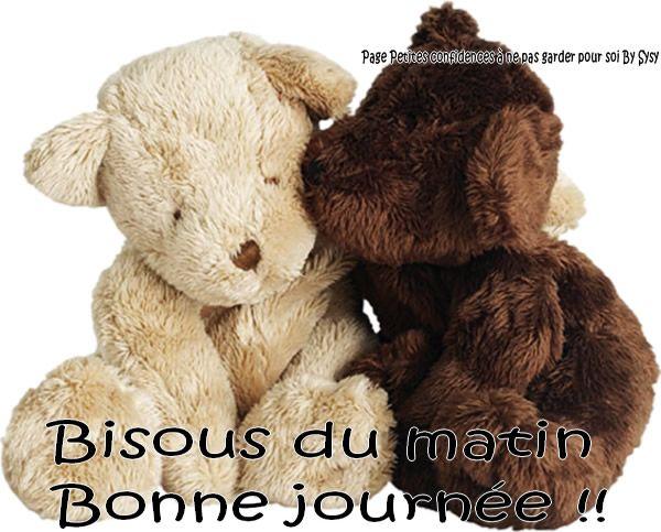 Bisous Du Matin Bonne Journée Bonjour Du Matin Bonne