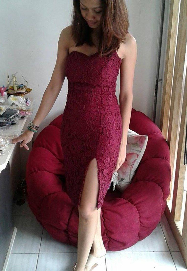 Model Baju Wanita Jenis Dress Terbaru Dengan Pilihan Warna Merah