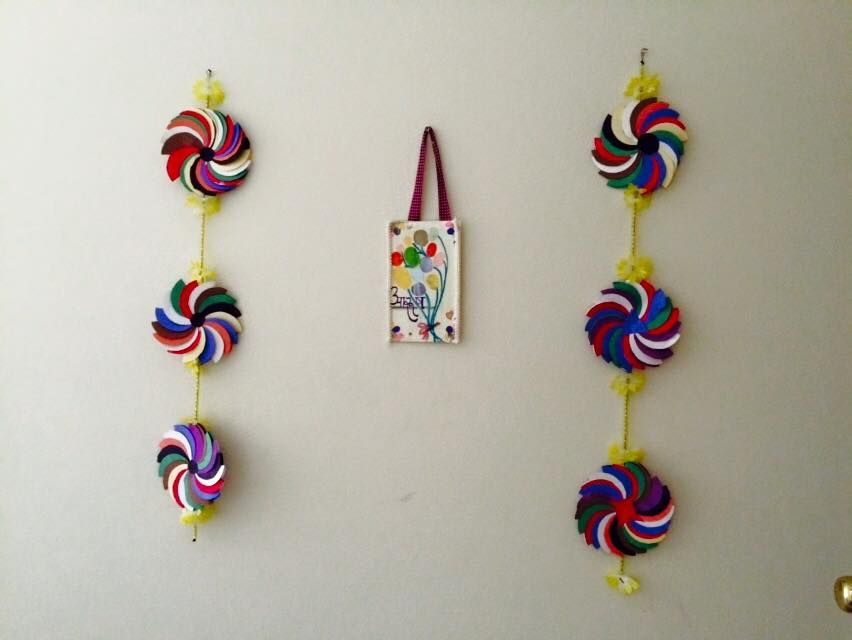 craft ideas for kids wall hanging