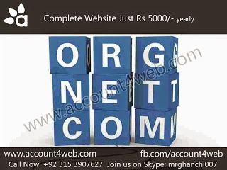 Account4WEB || Web Hosting in Pakistan.: Logo Designing, Website Designing, Web Development...