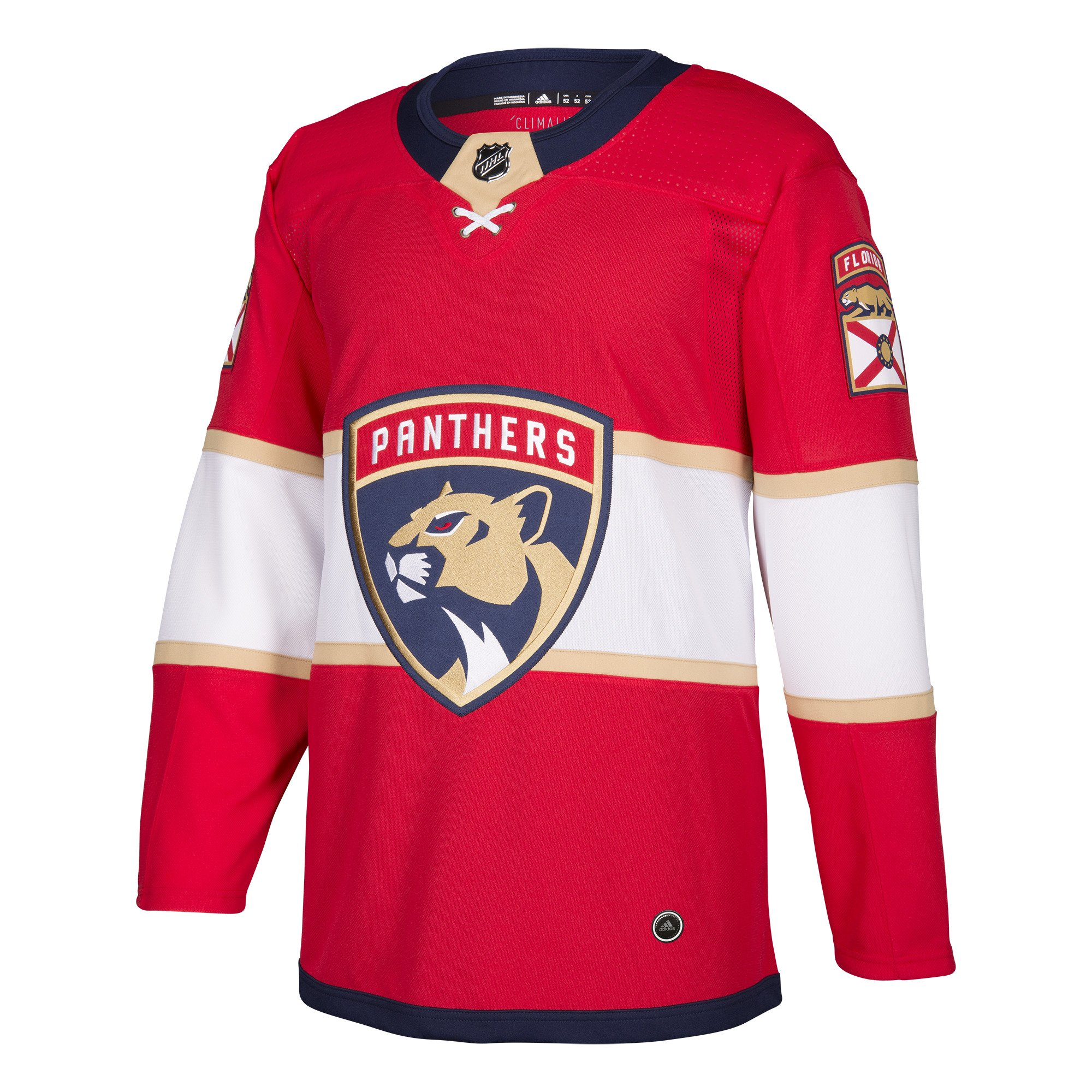 NHL Florida Panthers Fanatics Branded Away Breakaway Jersey Shirt Top Mens