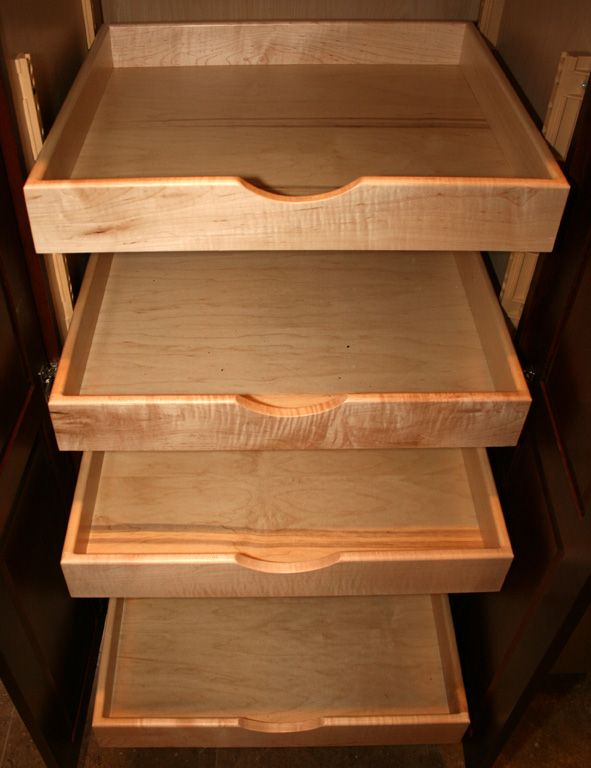 Best 25 deep closet ideas on pinterest small deep - Roll out shelving for pantry ...