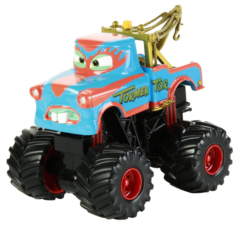 Amazon Com Disney Pixar Cars Toon Tormentor Monster Truck Toys