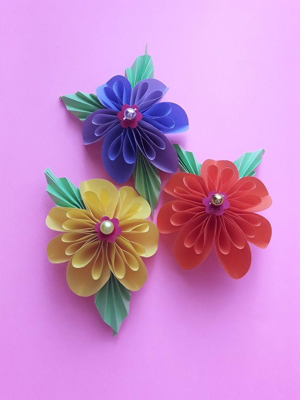 Kwiaty Origami Planter Pots Planters