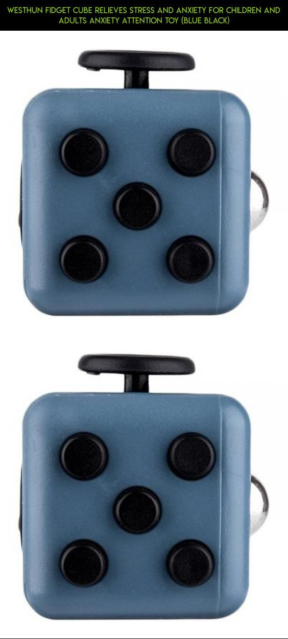 Westhun Fidget Cube Relieves Stress And Anxiety For Children Adults Attention Toy Blue