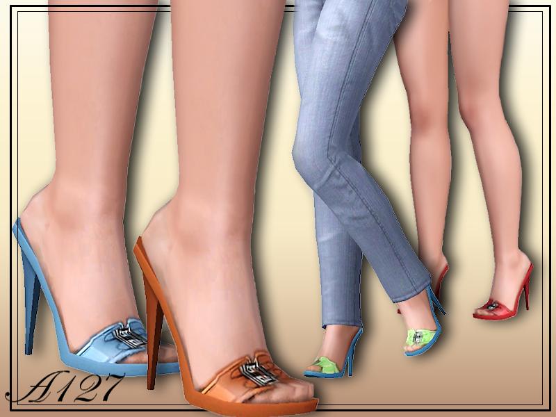 altea127 SimsVogue: Luana shoes