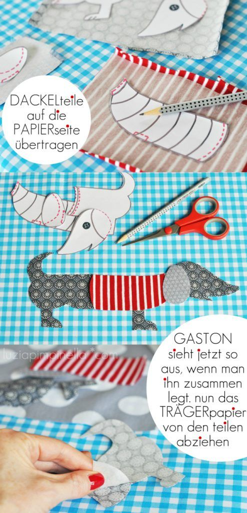 GASTON, le basset parisien | Applizieren | Pinterest | Dackel ...