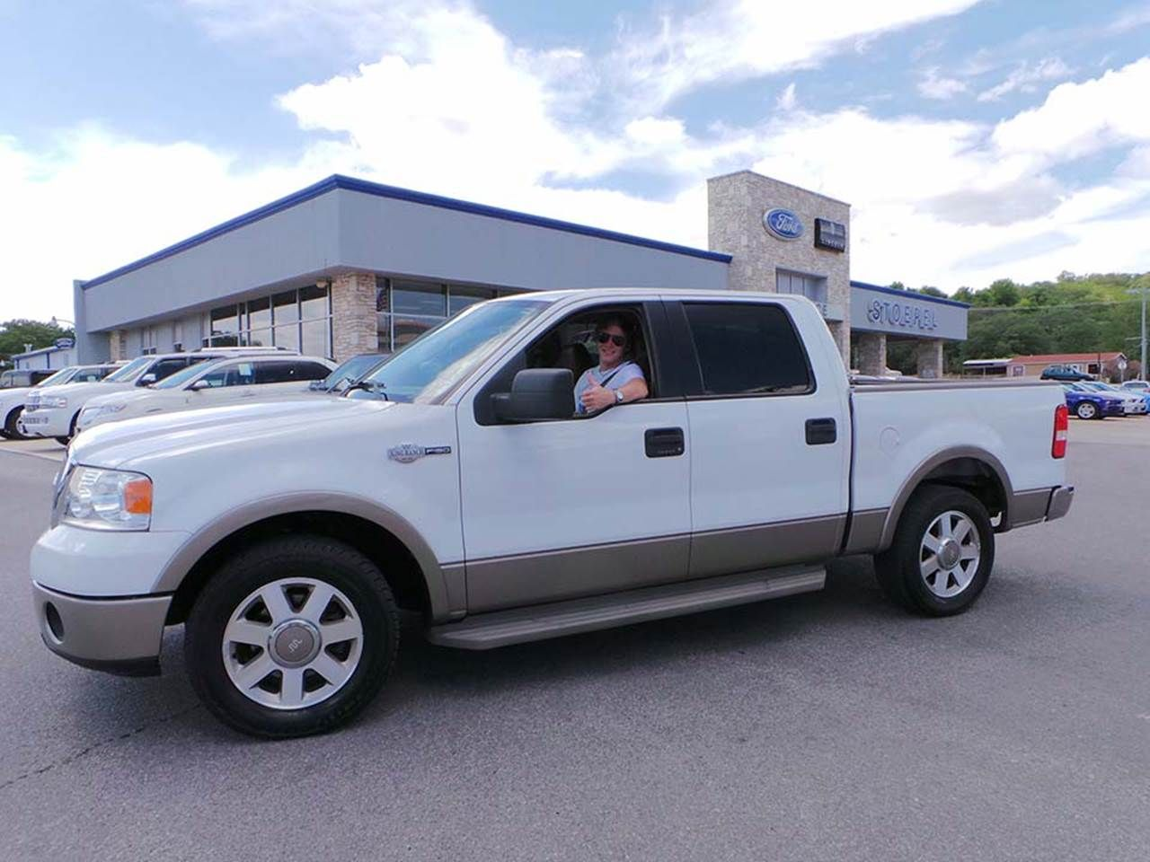 Graves Cowsar Driving Off In His Just Purchased Ford F 150 King