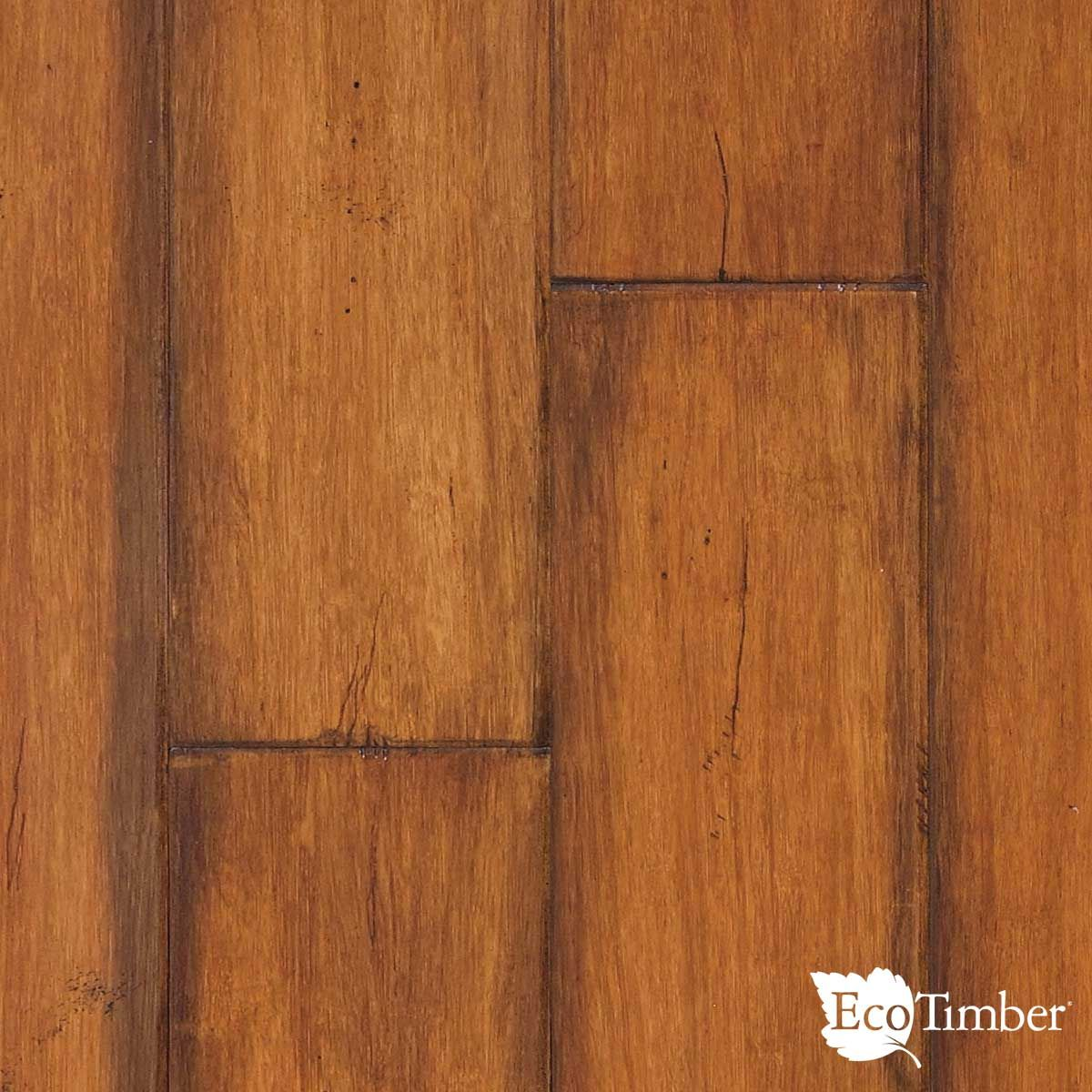 """Eco Flooring Options 5"""" strand bamboo, antique toffee, an eco-friendly, engineered"""