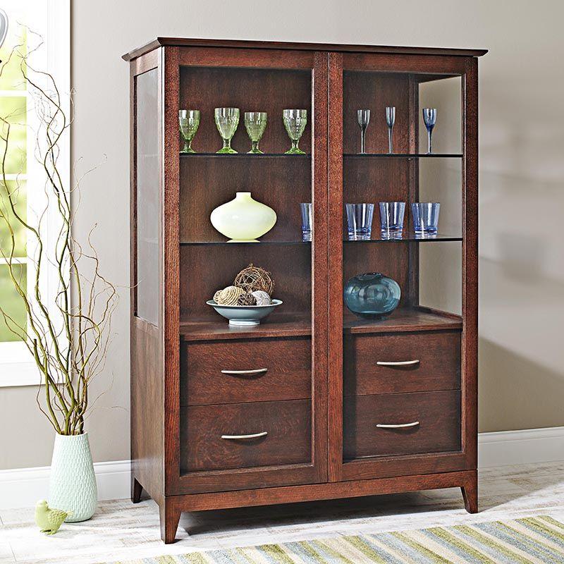 Sliding Door Curio Cabinet Woodworking Plan From Wood Magazine Cabinet Woodworking Plans Woodworking Furniture Plans Curio Cabinet Woodworking Plans