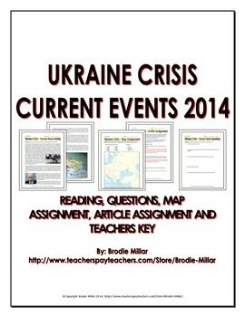 Photo of Ukraine Crisis 2014 – Current Events (Reading, Questions, Assignments, Key)