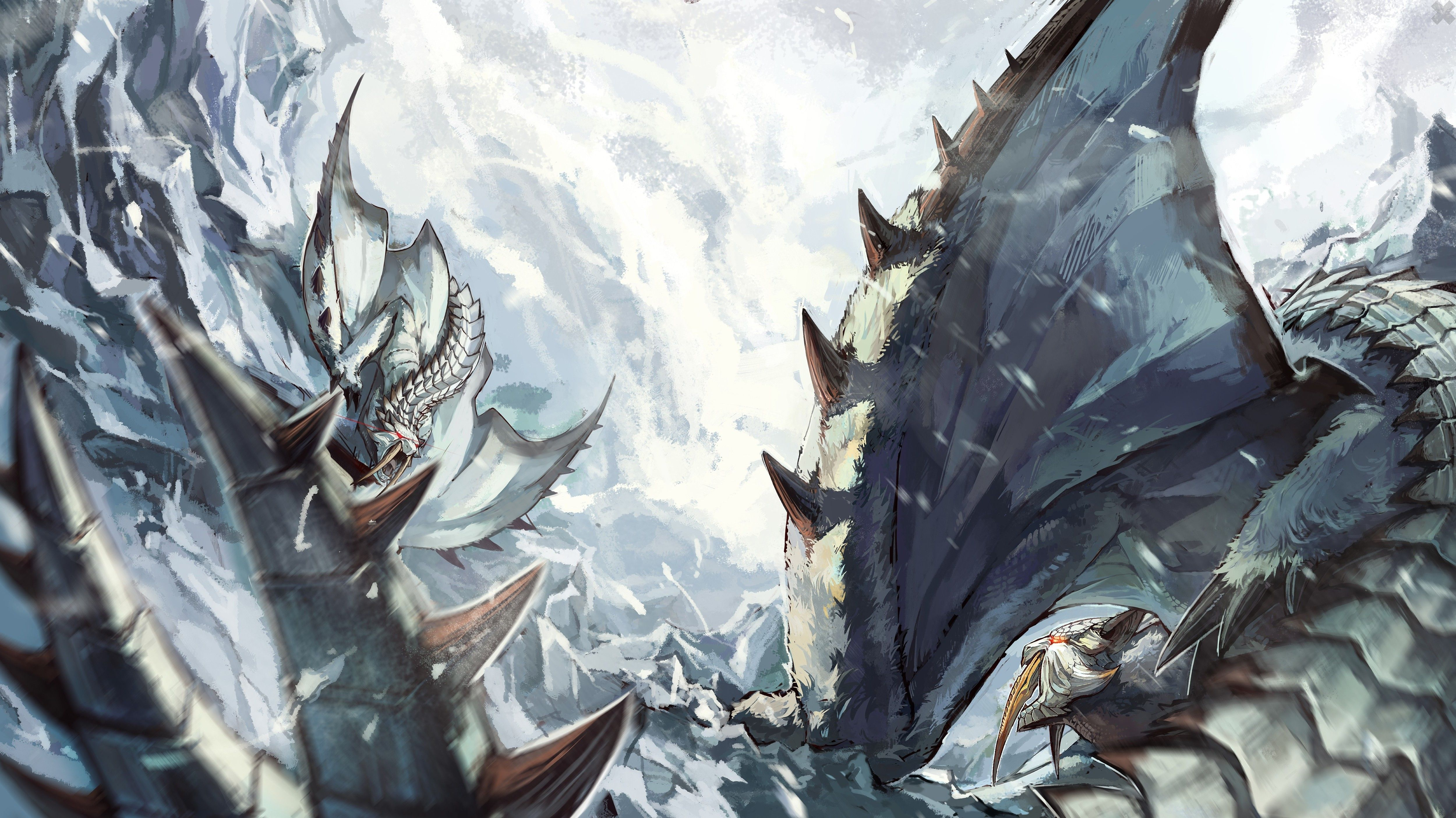 Monster Hunter Wallpapers HD Wallpapers Pinterest