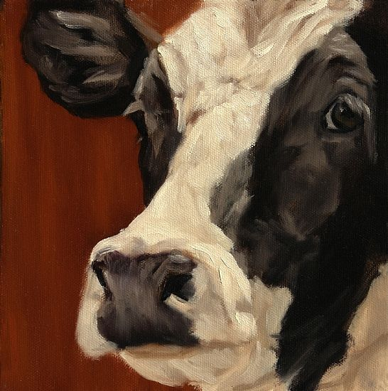 """Extreme Close Up by denise rich Oil ~ 8"""" x 8"""""""
