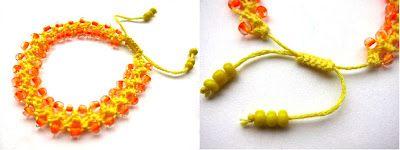 Vlijtig Neon Bracelet Turkish Love Knot Bracelet Double Square