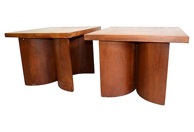 1970s Kroehler End Tables, Pair on OneKingsLane.com
