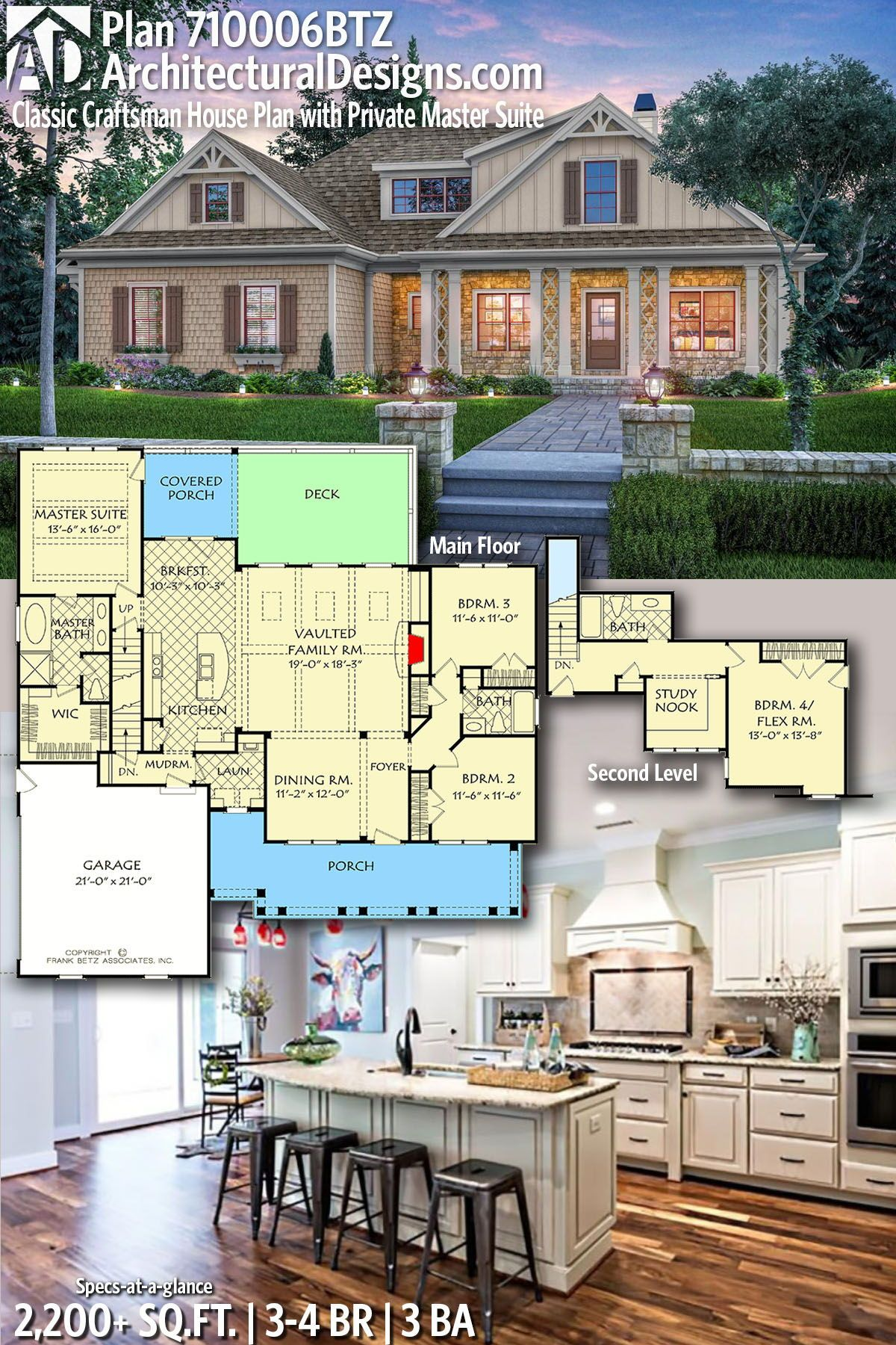 Architectural designs home plan btz gives you bedrooms baths and also rh pinterest