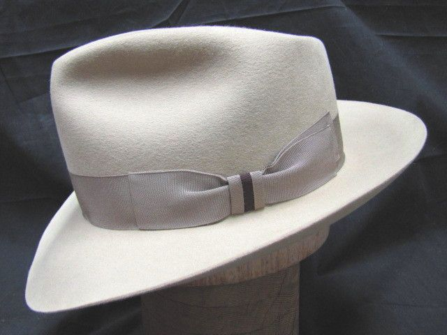 Custom hat from Vintage Silhouettes Master Hat Maker Art Fawcett. Prices  range from 300 to 1000 ......gotta give this a huge 10! 1eb5e752e0a