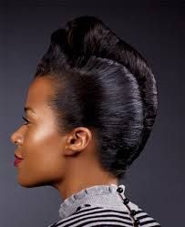 Superior French Roll Protective Hairstyle Hairstyles For